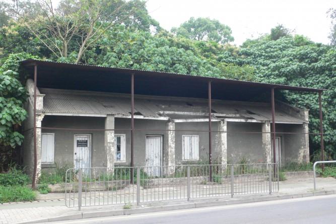 洪嶺站遺址。照片出處:維基百科